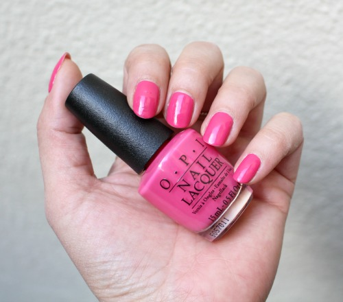 opi strawberry margarita swatch
