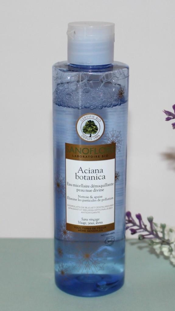 eau micellaire bleuet sanoflore