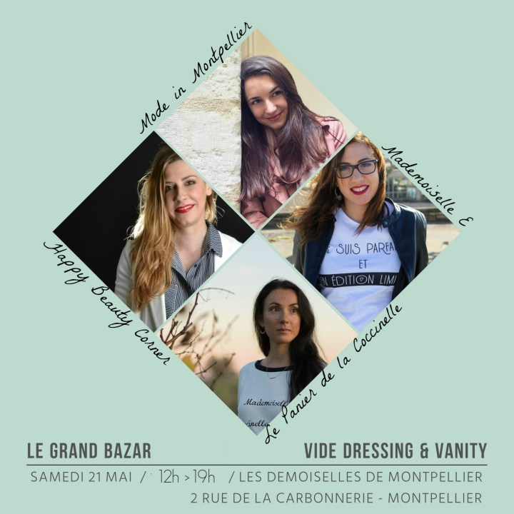 Prochains RDVs (Ateliers DIY, Vide Dressing…) : On se rencontre ?