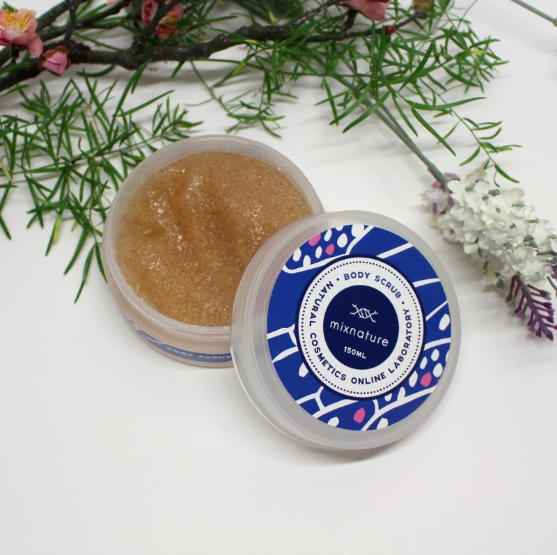 body scrub mixnature