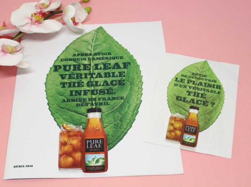 thé glacé pure leaf