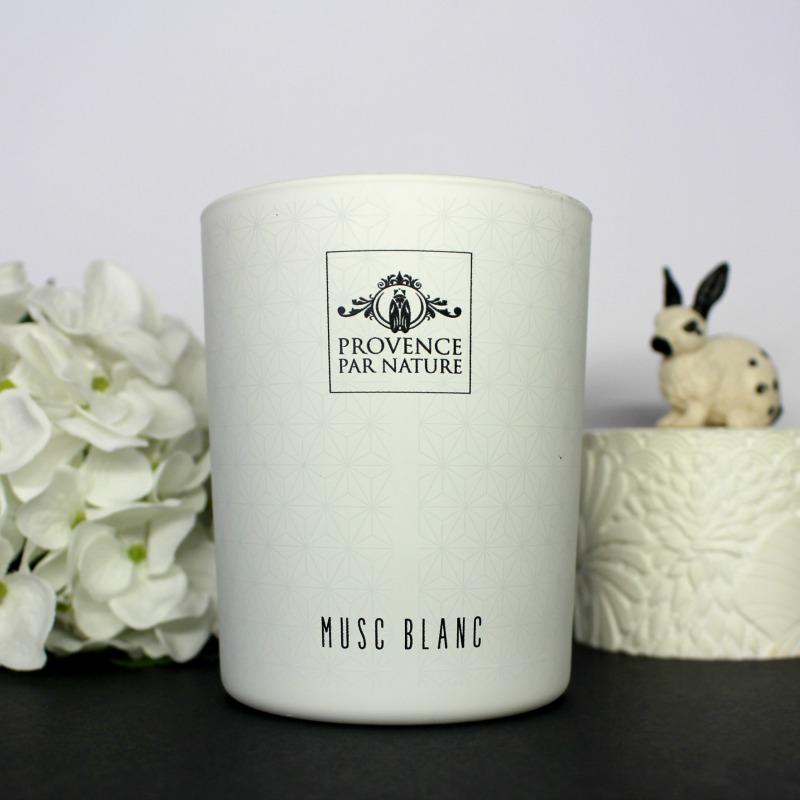 bougie musc blanc