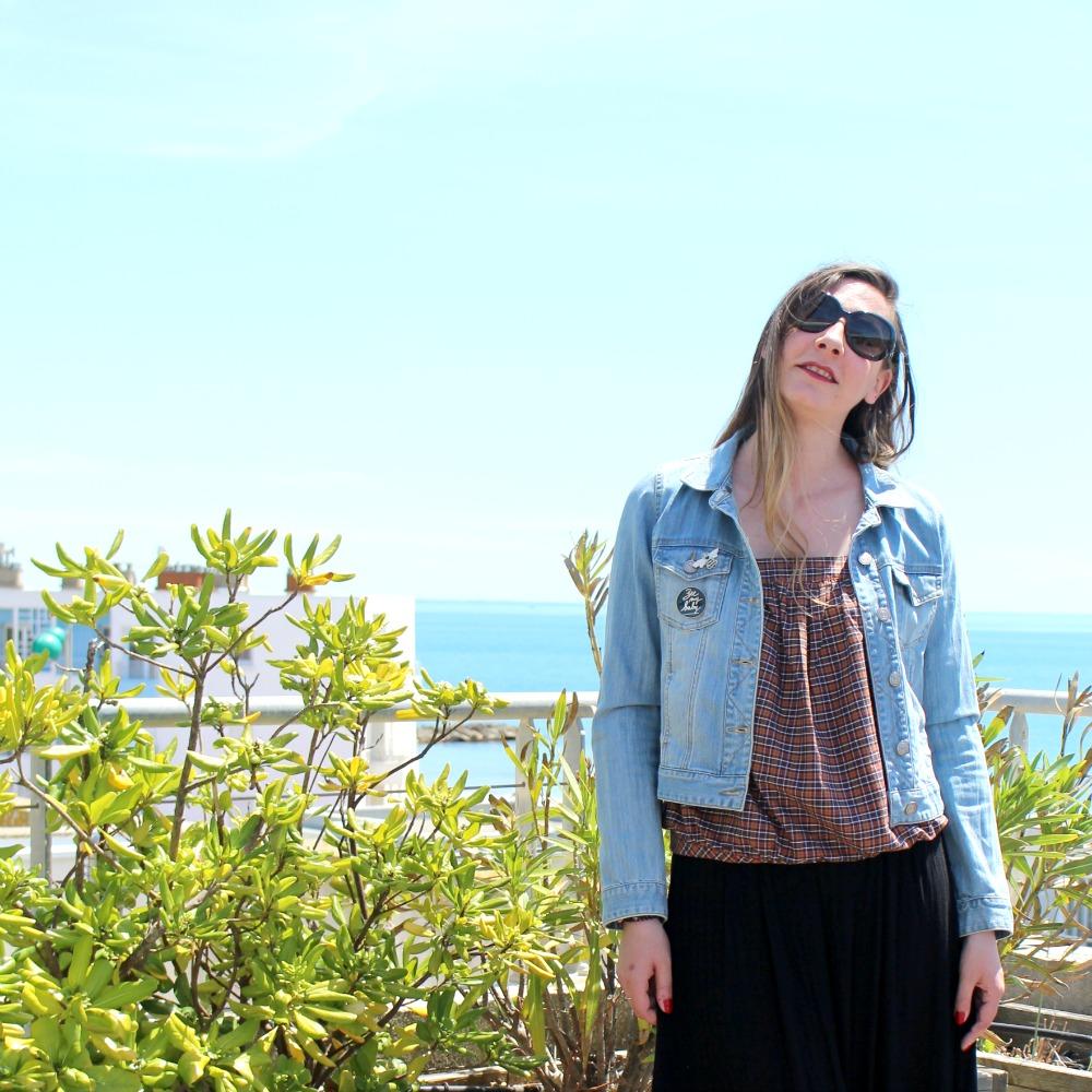 La jupe culotte ou mon petit pyjama de plage !