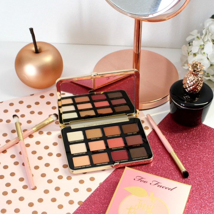 Palette Just Peachy Mattes de Too Faced : in love ?