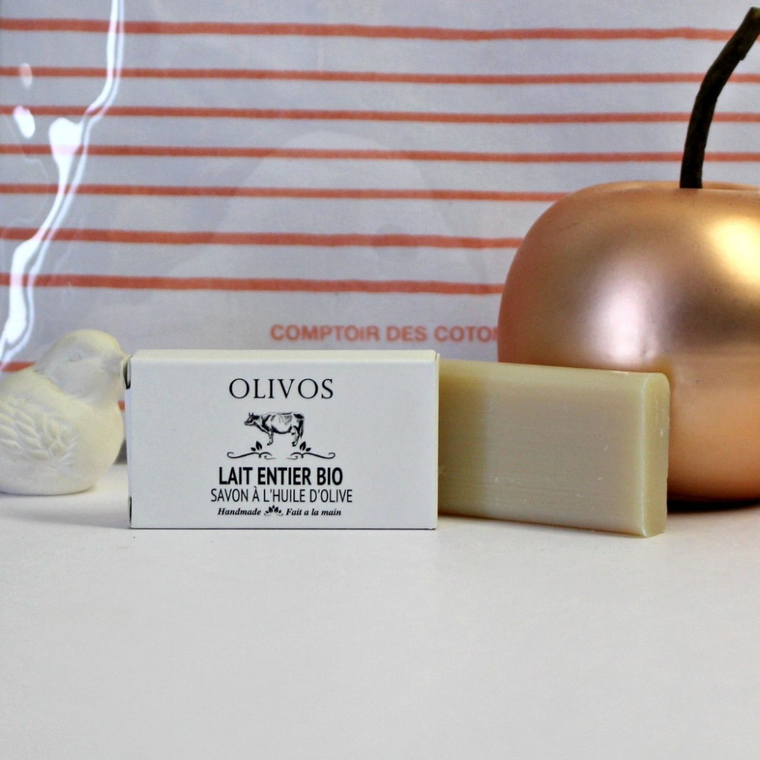 savon olivos lait huile d'olive