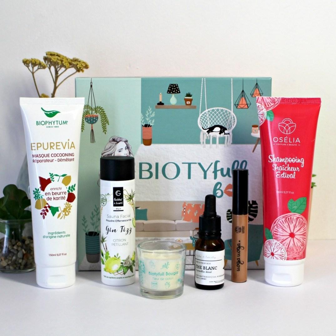 Contenu de la Biotyfull Box de Mai