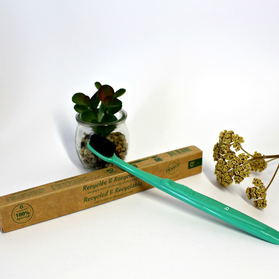 brosse à dents bioseptyl recyclable