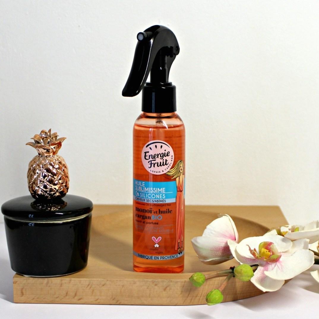 huile serum cheveux argan