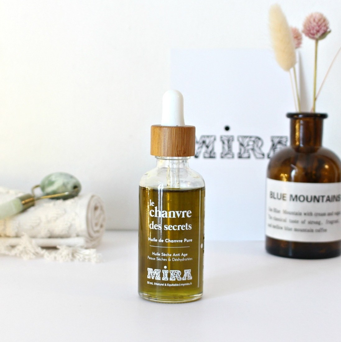 huile de chanvre cosmetique