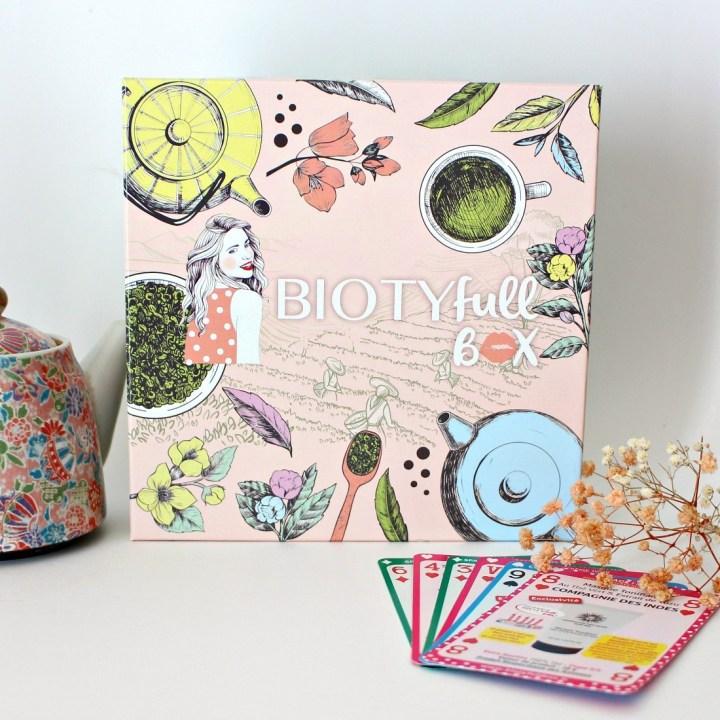 Biotyfull Box spéciale anniversaire : Tea Time !