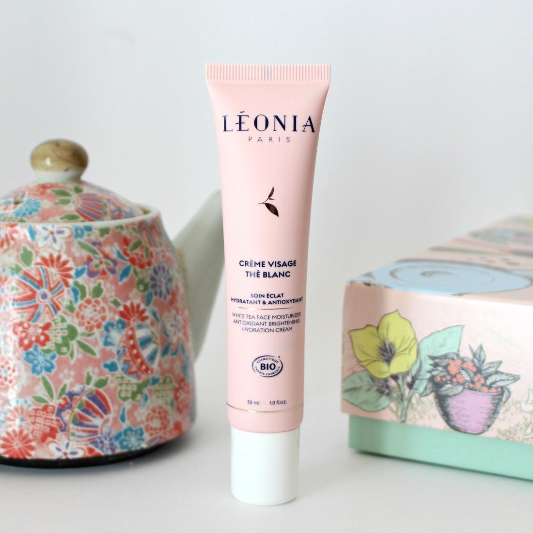 crème visage bio léonia