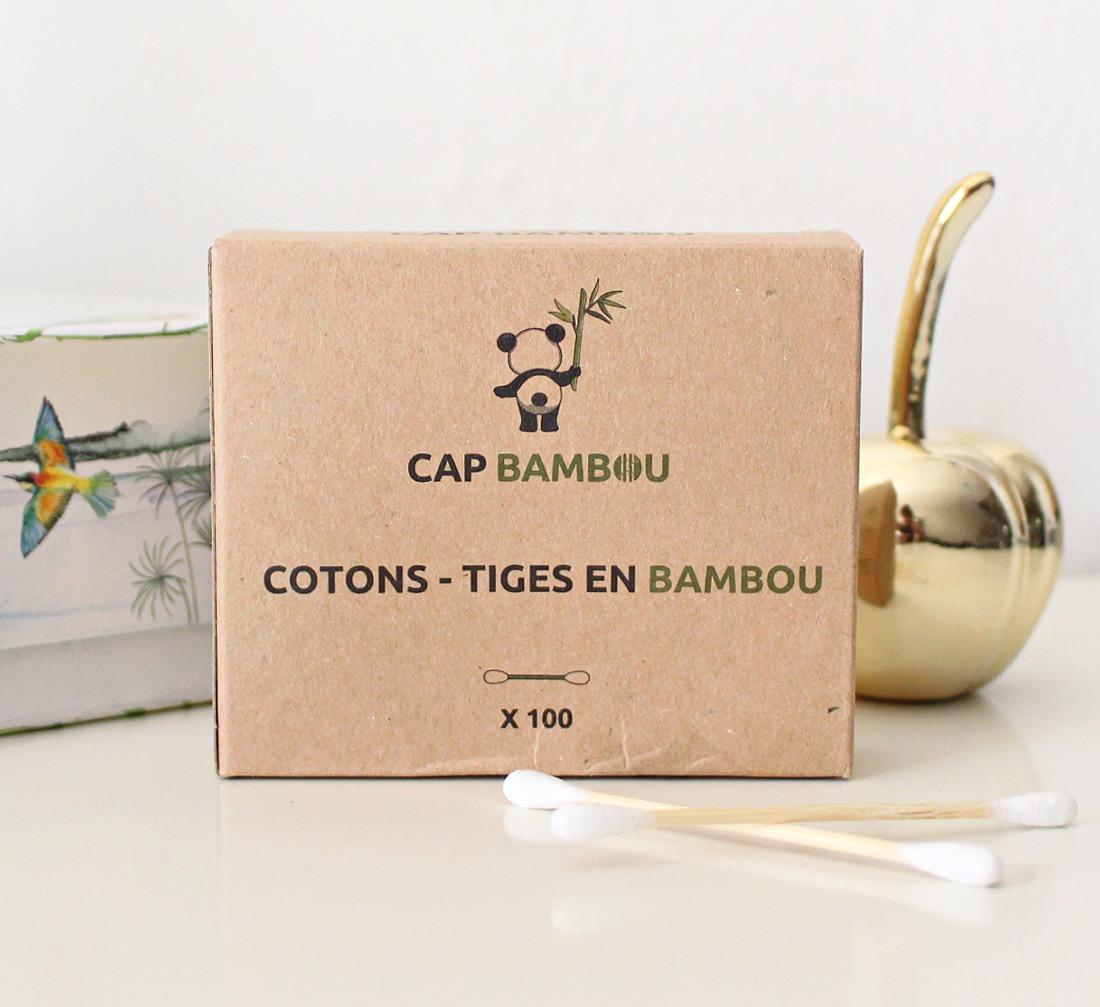 coton tiges bambou