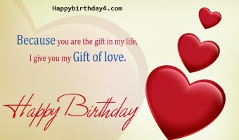 Happy Birthday Wishes for Fiance