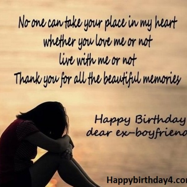 Birthday Wishes For Ex-Boyfriend