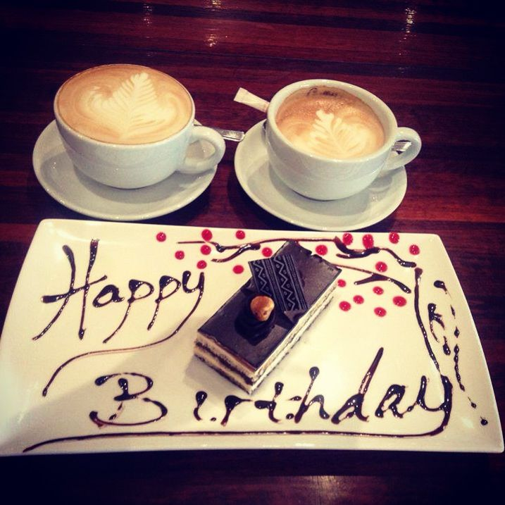 Happy Birthday Wishes With Coffee