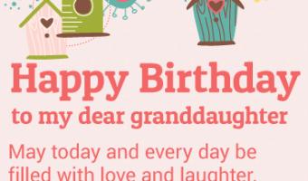 Happy Birthday Granddaughter Poem Archives Happy Birthday