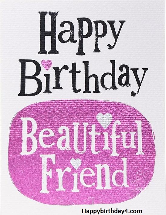 Happy Birthday Beautiful Friend