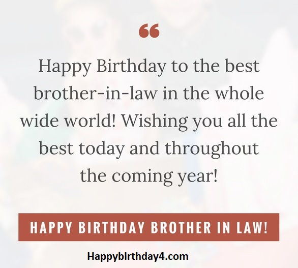 150 Happy Birthday Brother In Law Wishes Happy Birthday