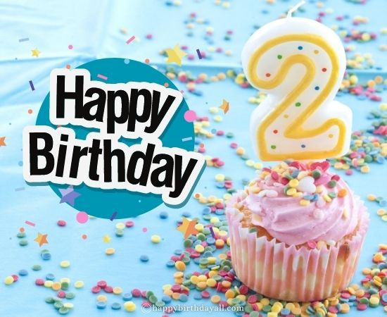 40 Cute Happy 2nd Birthday Wishes For 2 Year Old Baby