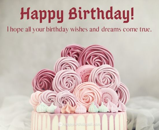 Soothing Happy Birthday Images With Flowers And Roses