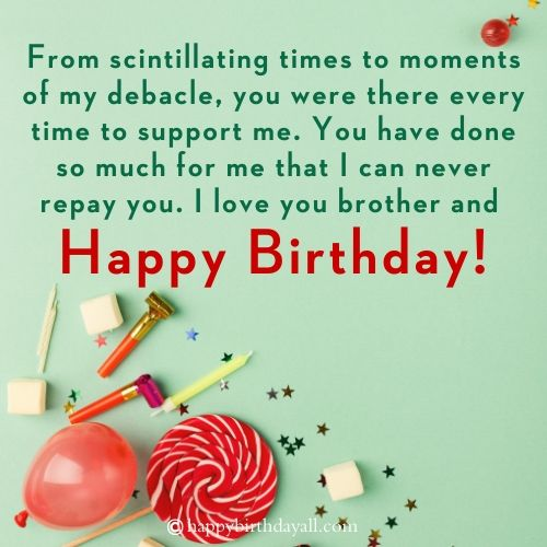 Happy Birthday Wishes For Brother From Another Mother