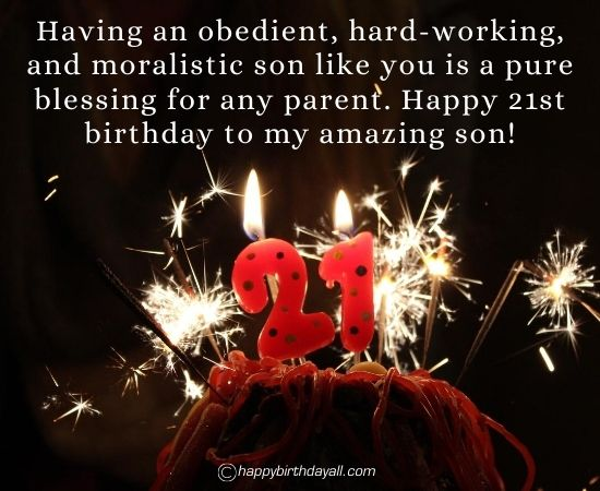 70 Lovely Happy 21st Birthday Wishes Messages Quotes