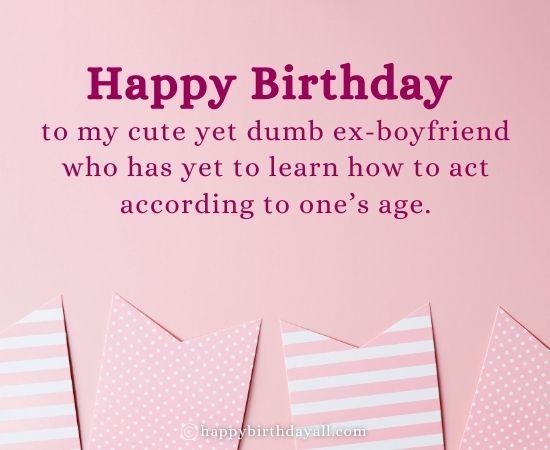 Heart Touching Happy Birthday Wishes For Ex Boyfriend
