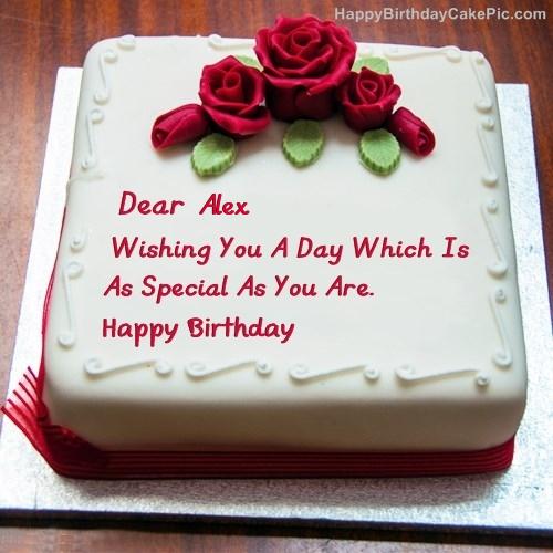 Best Birthday Cake For Lover For Alex