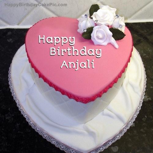 ️ Birthday Cake For Anjali