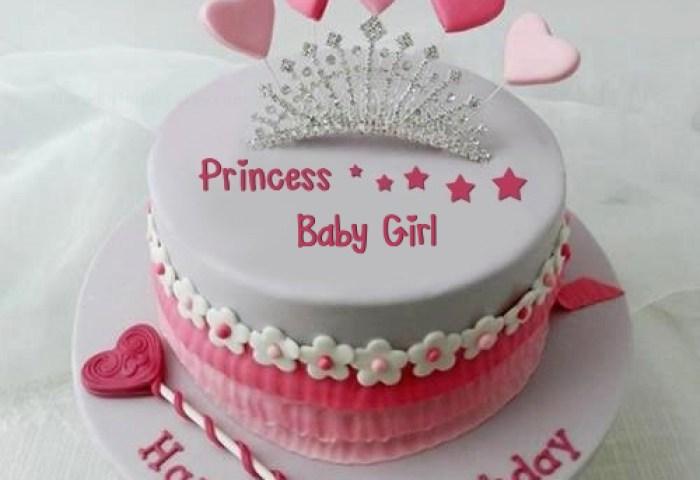 Princess Birthday Cake For Baby Girl