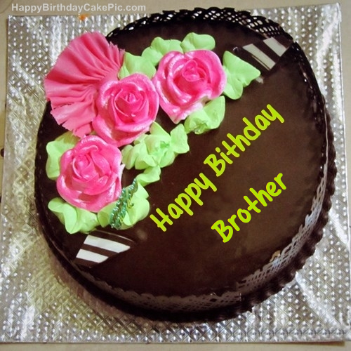 Chocolate Birthday Cake For Brother