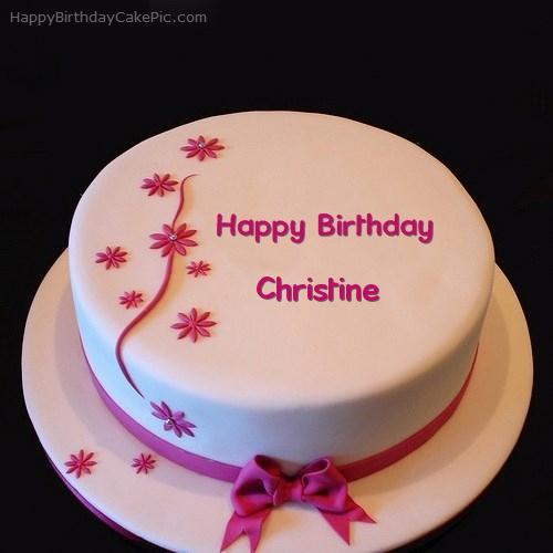 Geez Birthday Cake For Christine
