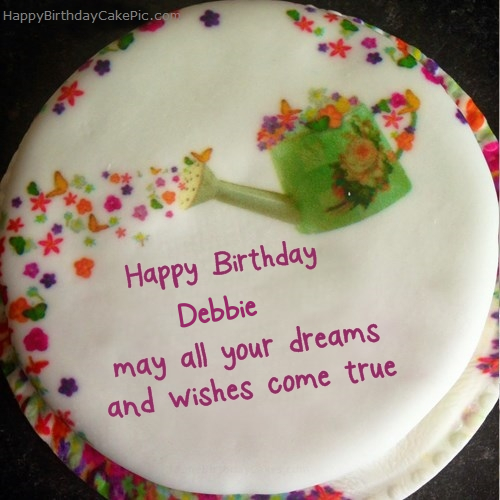 Wish Birthday Cake For Debbie