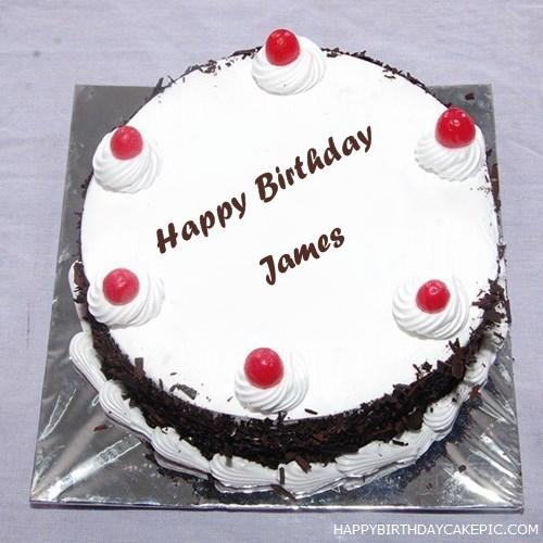 Black Forest Birthday Cake For James