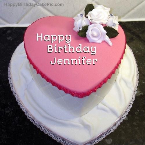 Birthday Cake For Jennifer