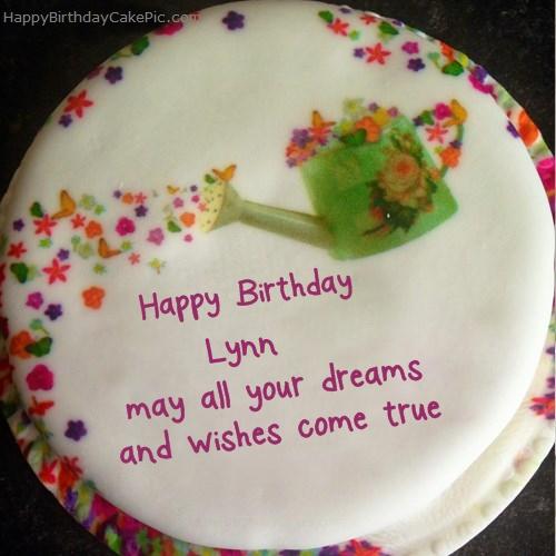 Wish Birthday Cake For Lynn