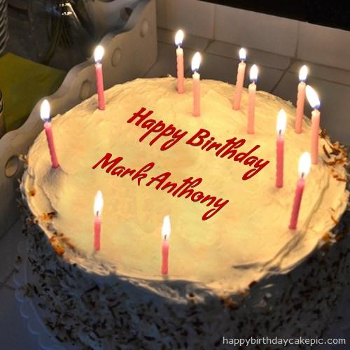 Friends Birthday Cake For Mark Anthony