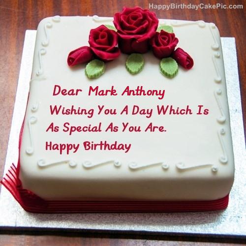 Best Birthday Cake For Lover For Mark Anthony