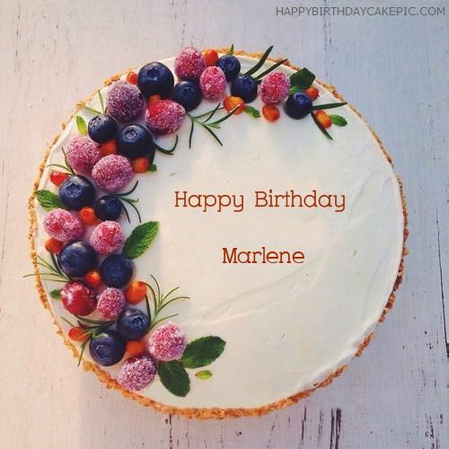 ️ New Birthday Cakes For Marlene