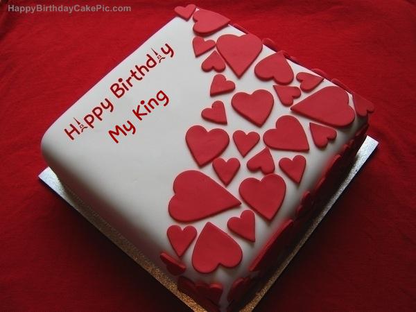 Birthday Wish Beautiful Cake For My King