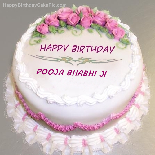 Birthday Pics With Name Pooja Labzada Wallpaper