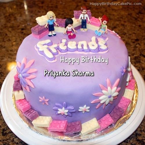 Birthday Cake With Name Priyanka