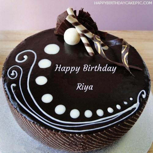 Candy Chocolate Cake For Riya