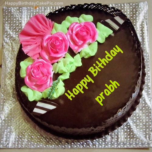 Write Edit Name Cake Birthday Happy