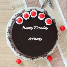 Anthony Happy Birthday Cakes Photos