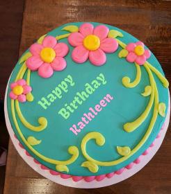 Kathleen Happy Birthday Cakes Photos