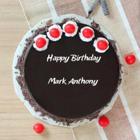 Mark Anthony Happy Birthday Cakes Photos