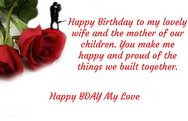 bday wishes for wife