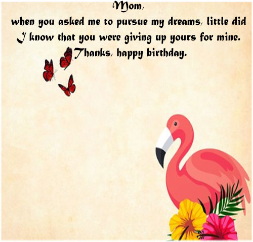 Happy birthday mom messages with wallpaper images