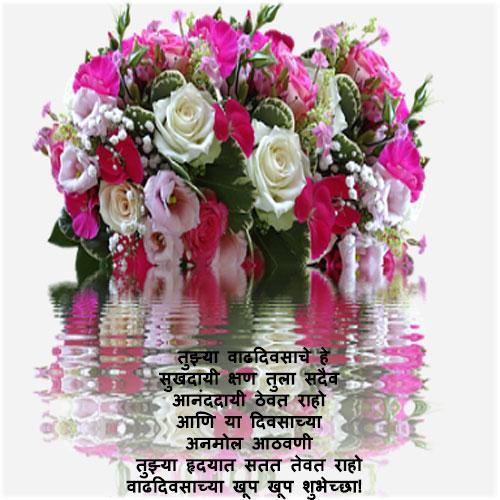 Birthday images marathi